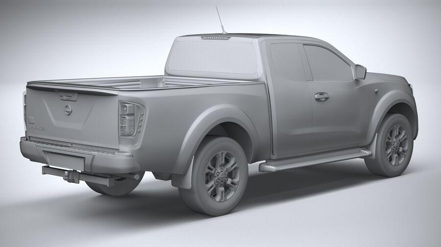 Nissan Navara 2020 royalty-free 3d model - Preview no. 26