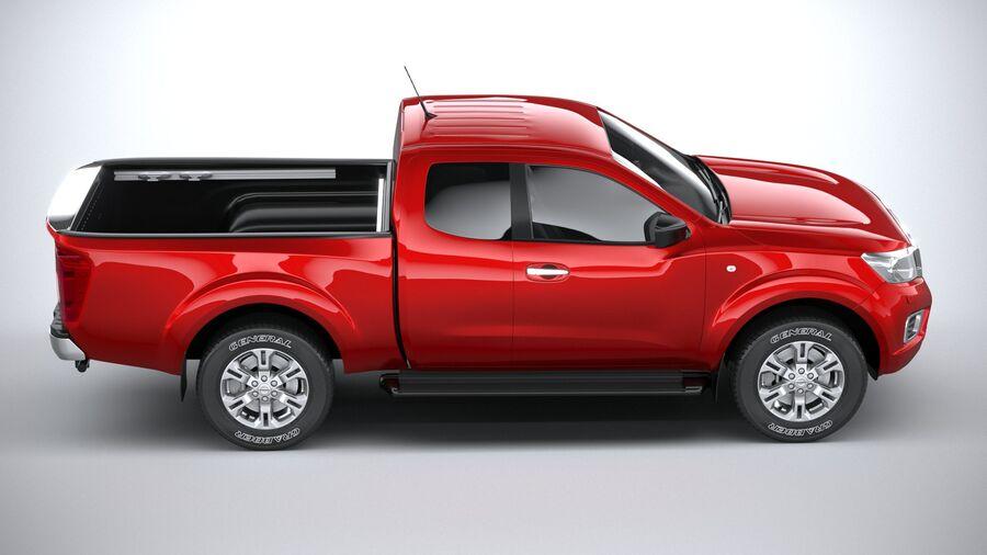 Nissan Navara 2020 royalty-free 3d model - Preview no. 12
