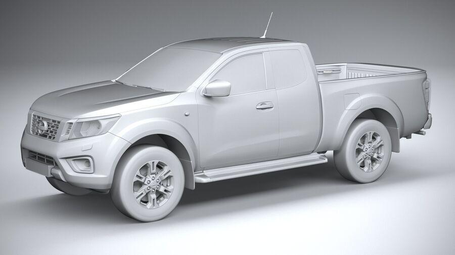 Nissan Navara 2020 royalty-free 3d model - Preview no. 20