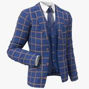 Leisure Suit Jacket 3d model