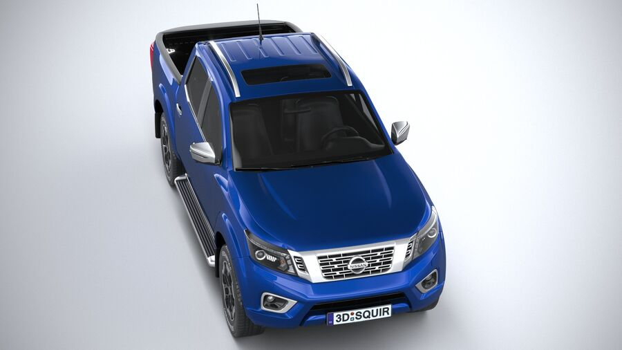 Nissan Navara DoubleCab 2020 royalty-free 3d model - Preview no. 13