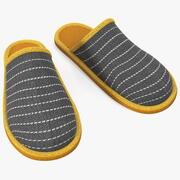 Home Slippers 3d model