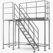 Rooftop Access Platform 3d model