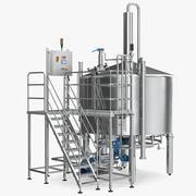 ウイスキー製造工場 3d model