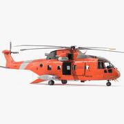 Arama Kurtarma Helikopteri 3d model