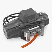 Car Electric Winch 3d model