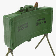 MON 50 Directional Anti Personnel Mine im Alter von 3d model