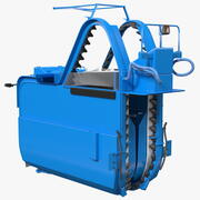 BRAUD 9090X 포도 수확기 기계 3d model