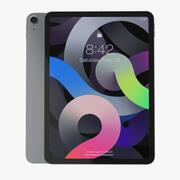 Apple iPad Air 4 2020 Space Grey 3d model