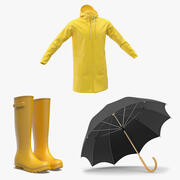 Rain Protection Collection 3d model