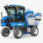 BRAUD 9090X 포도 수확기 3d model