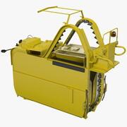 포도 수확기 기계 3d model