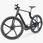 Углеродный электрический дорожный велосипед 3d model