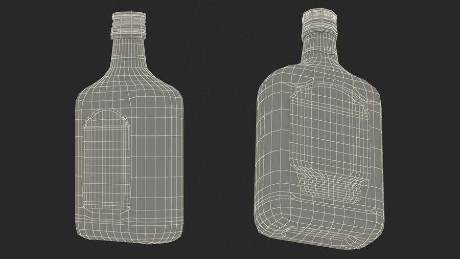 Stroh 60 Austrian Rum Bottle royalty-free 3d model - Preview no. 22