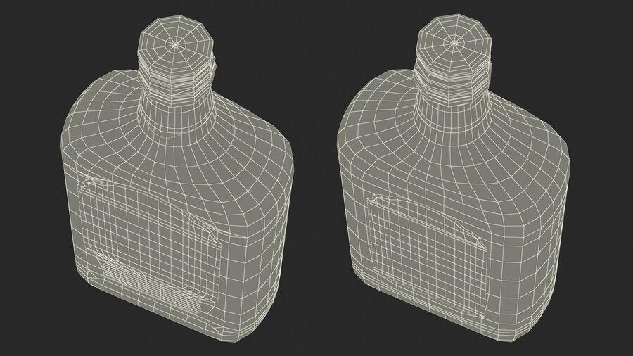 Stroh 60 Austrian Rum Bottle royalty-free 3d model - Preview no. 23