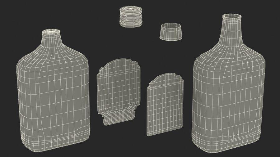 Stroh 60 Austrian Rum Bottle royalty-free 3d model - Preview no. 21