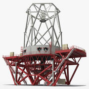Lustrzany teleskop 3d model