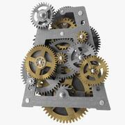 Urverk Redskap blandade 3d model