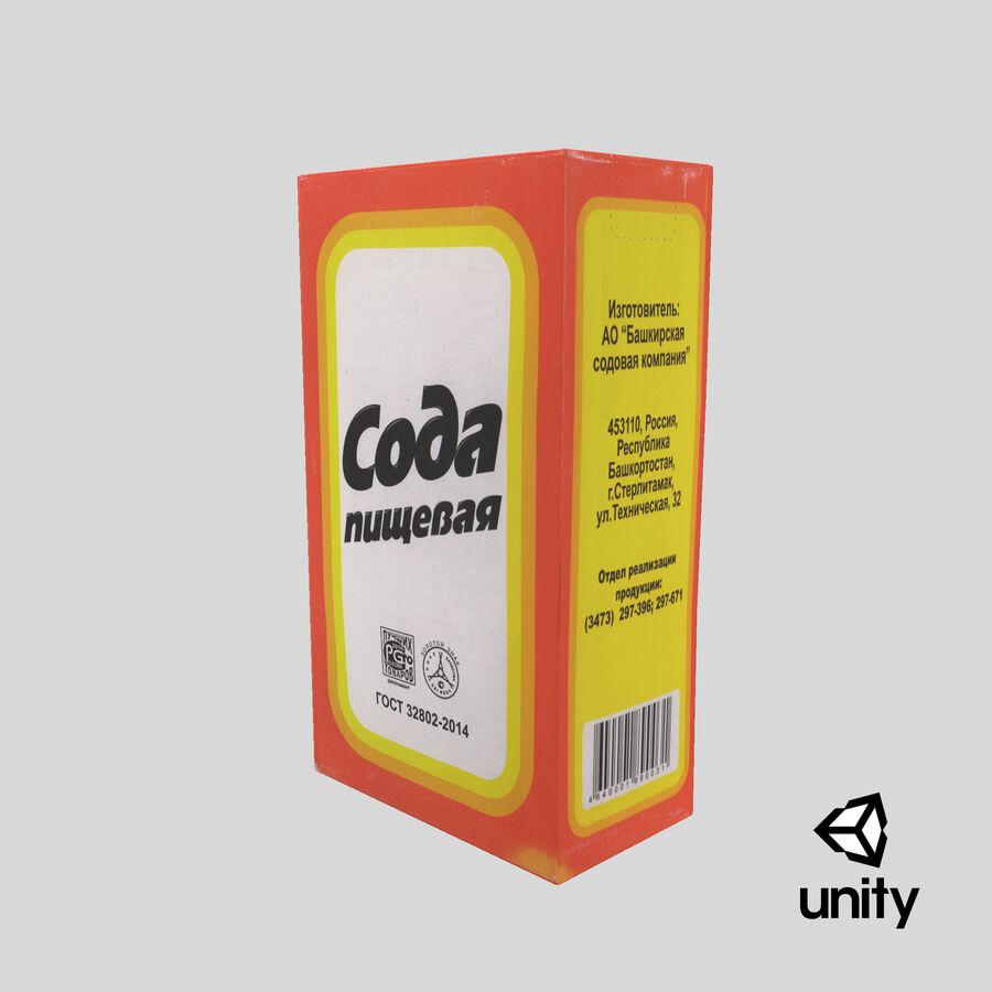 Baking Soda royalty-free 3d model - Preview no. 20