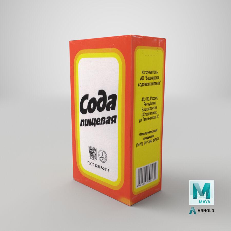 Baking Soda royalty-free 3d model - Preview no. 25