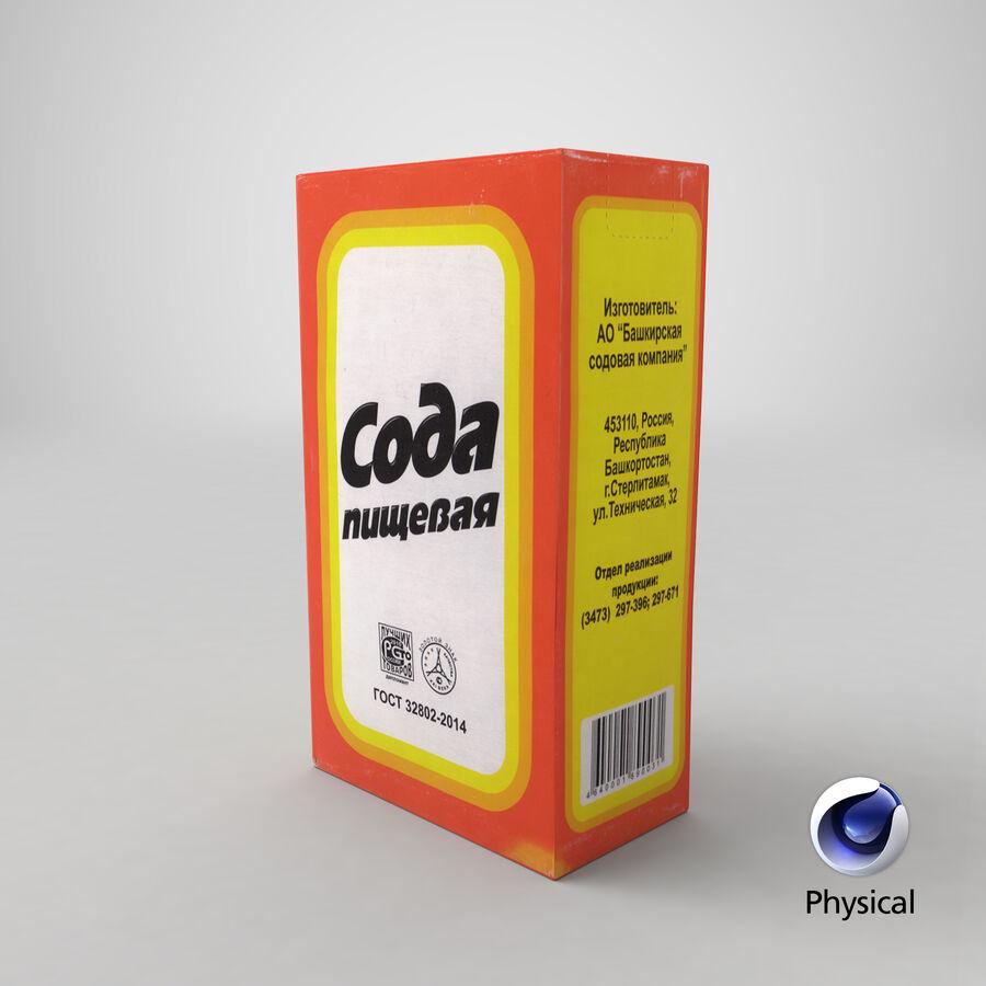 Baking Soda royalty-free 3d model - Preview no. 18