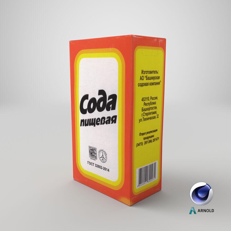 Baking Soda royalty-free 3d model - Preview no. 19