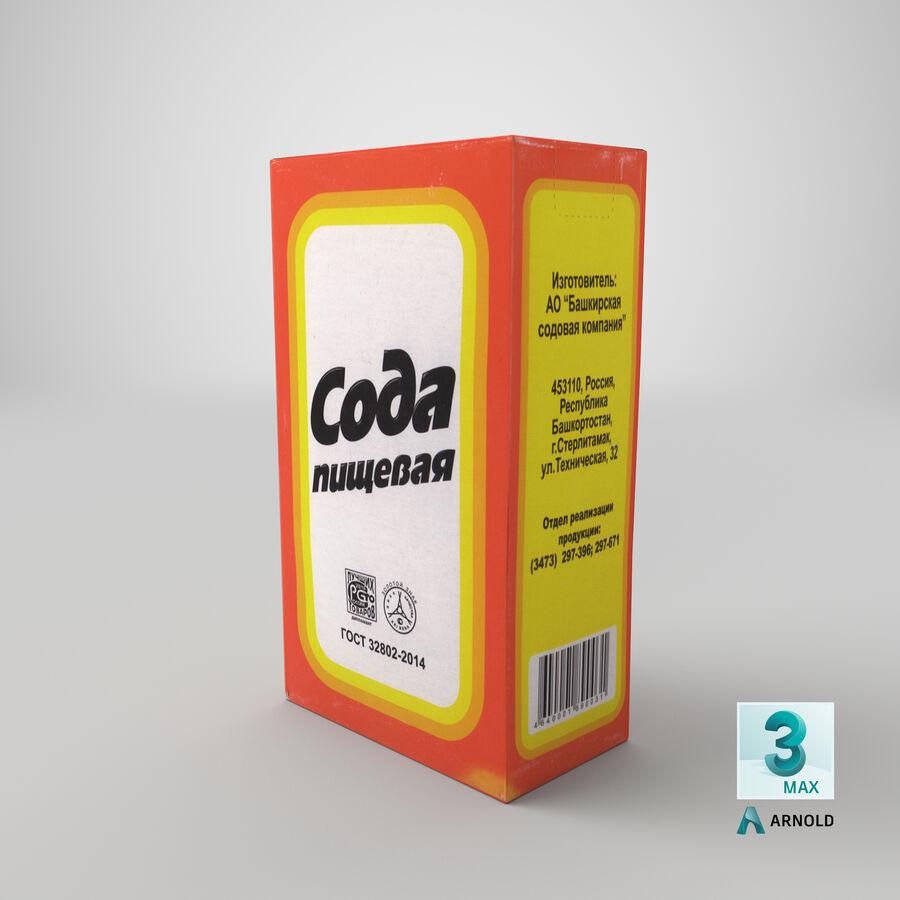 Baking Soda royalty-free 3d model - Preview no. 22