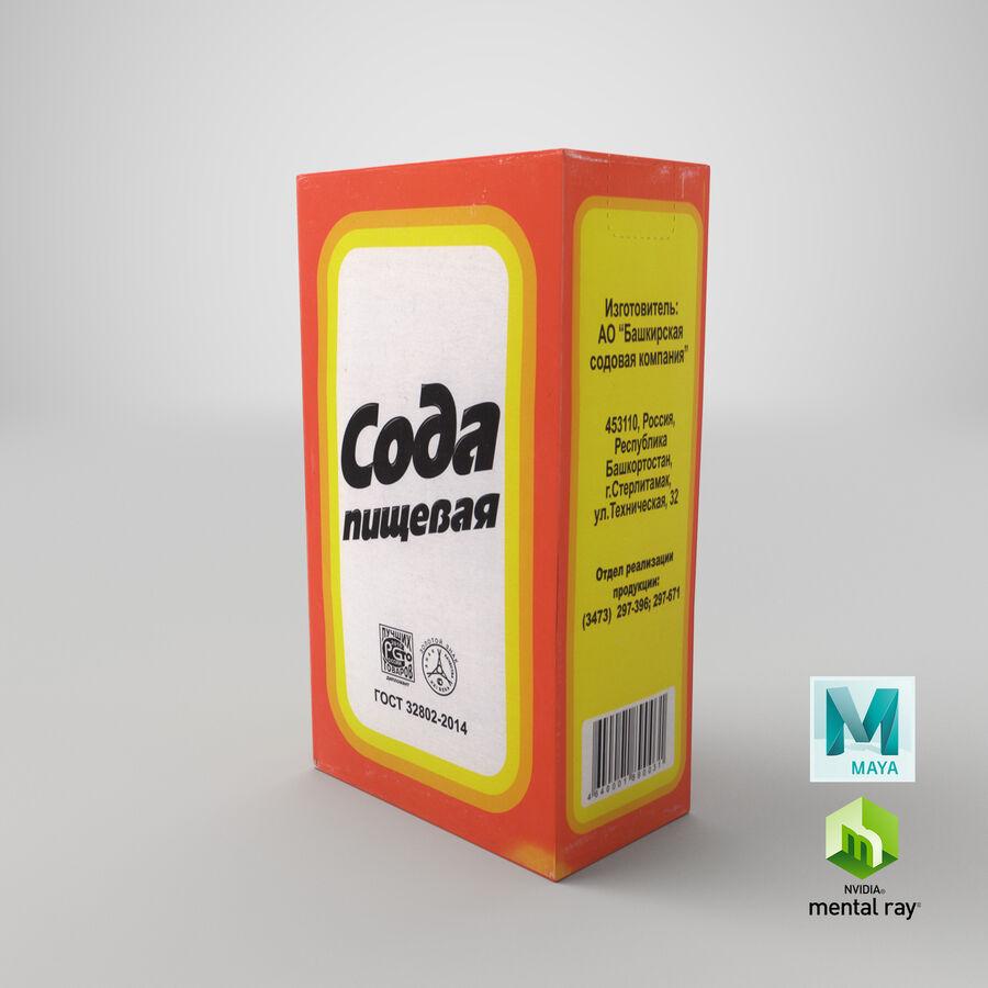 Baking Soda royalty-free 3d model - Preview no. 26