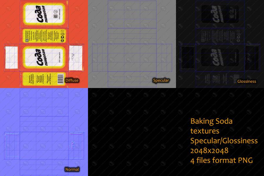 Baking Soda royalty-free 3d model - Preview no. 14