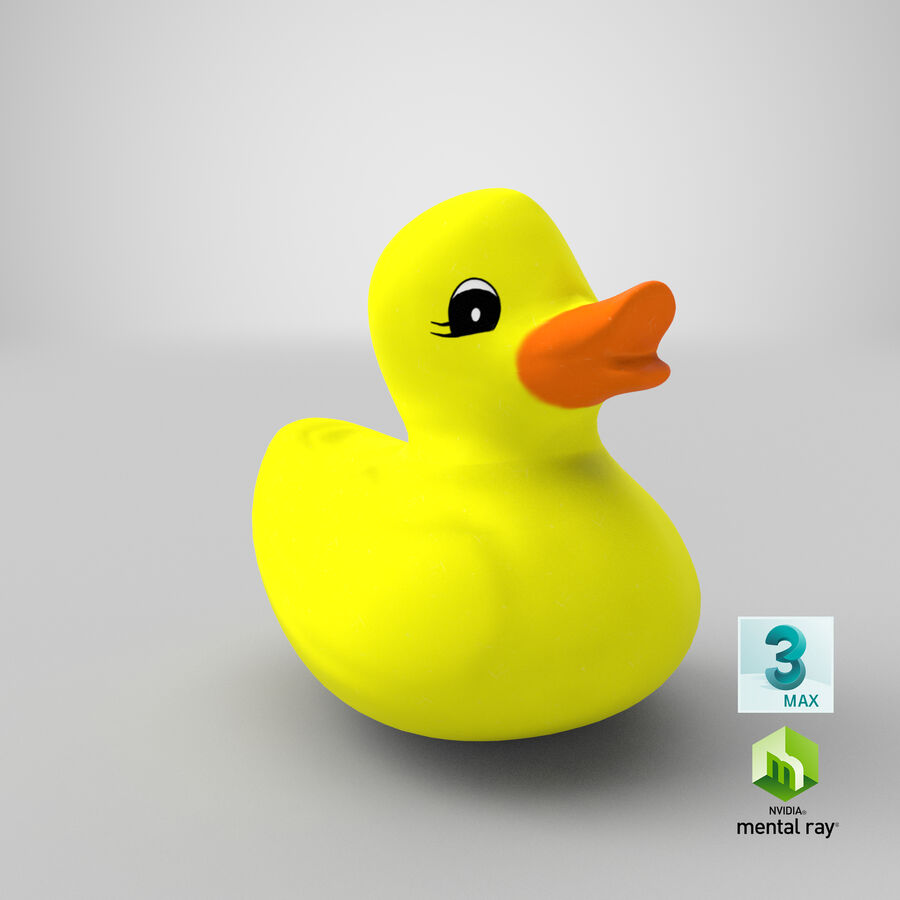 Duck royalty-free 3d model - Preview no. 22