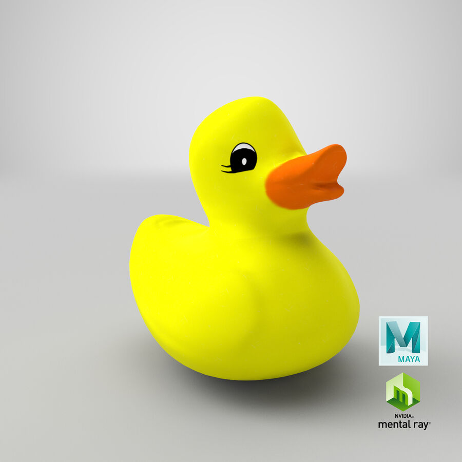 Duck royalty-free 3d model - Preview no. 20
