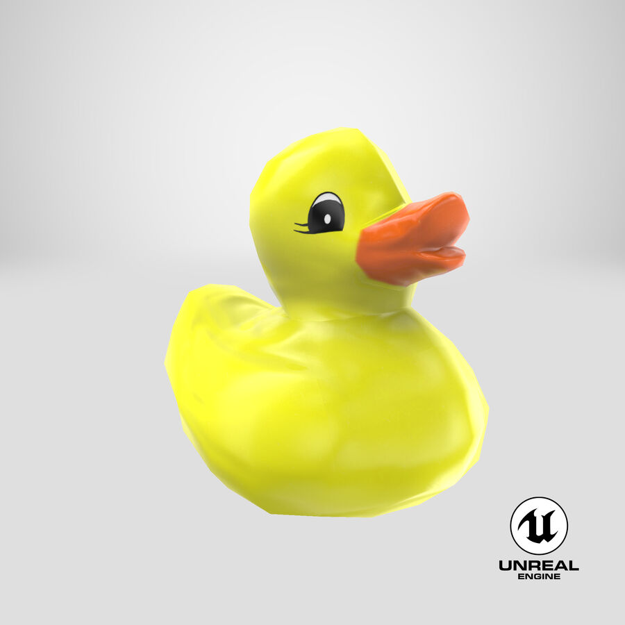 Duck royalty-free 3d model - Preview no. 23