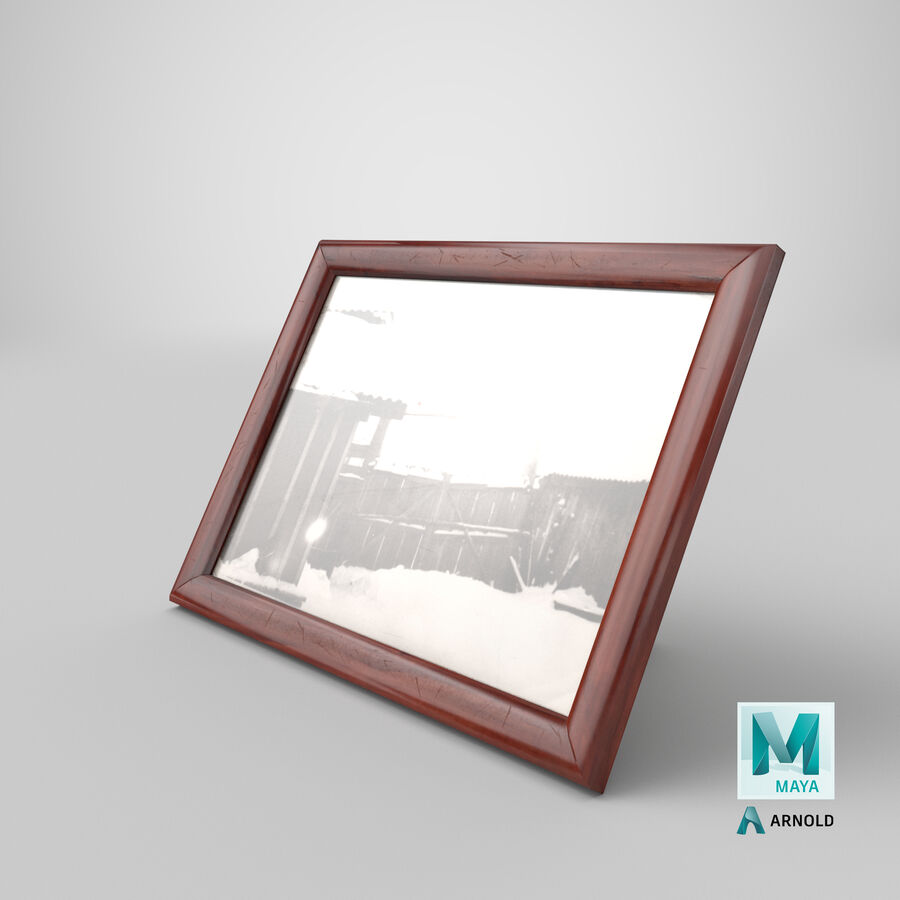 Framed Photo royalty-free 3d model - Preview no. 28
