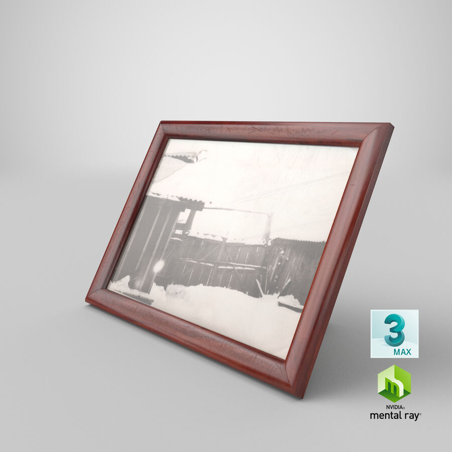 Framed Photo royalty-free 3d model - Preview no. 26