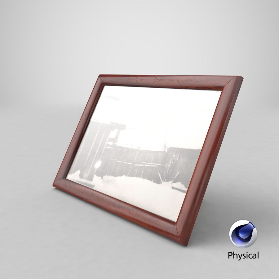 Framed Photo royalty-free 3d model - Preview no. 21