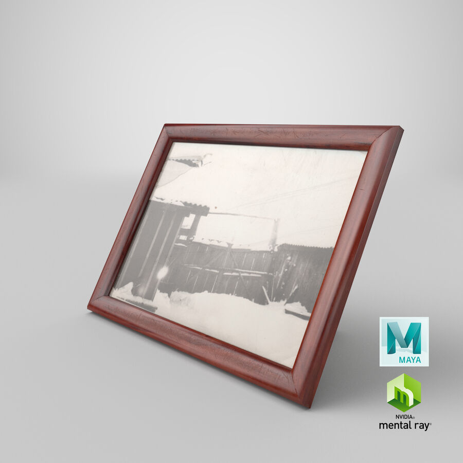 Framed Photo royalty-free 3d model - Preview no. 29