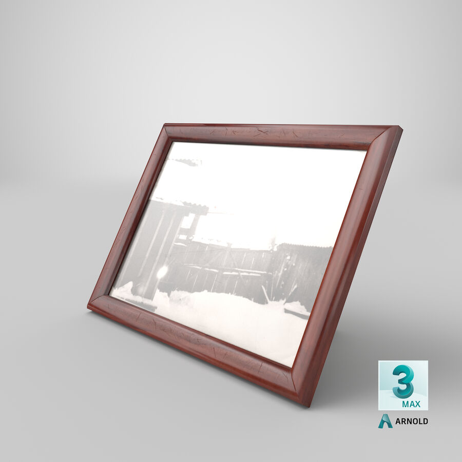 Framed Photo royalty-free 3d model - Preview no. 25
