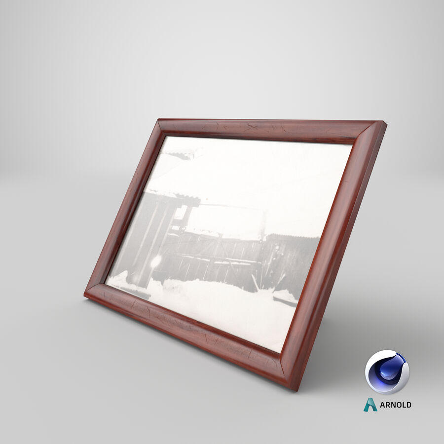 Framed Photo royalty-free 3d model - Preview no. 22