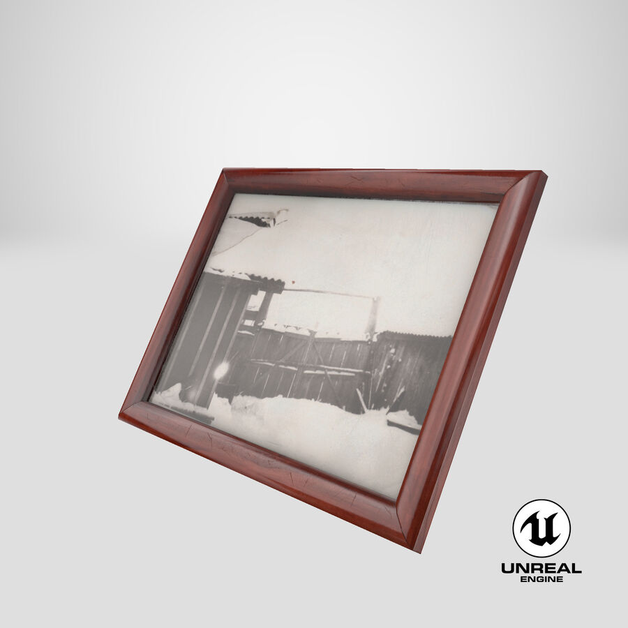 Framed Photo royalty-free 3d model - Preview no. 24
