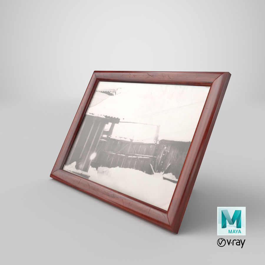 Framed Photo royalty-free 3d model - Preview no. 30