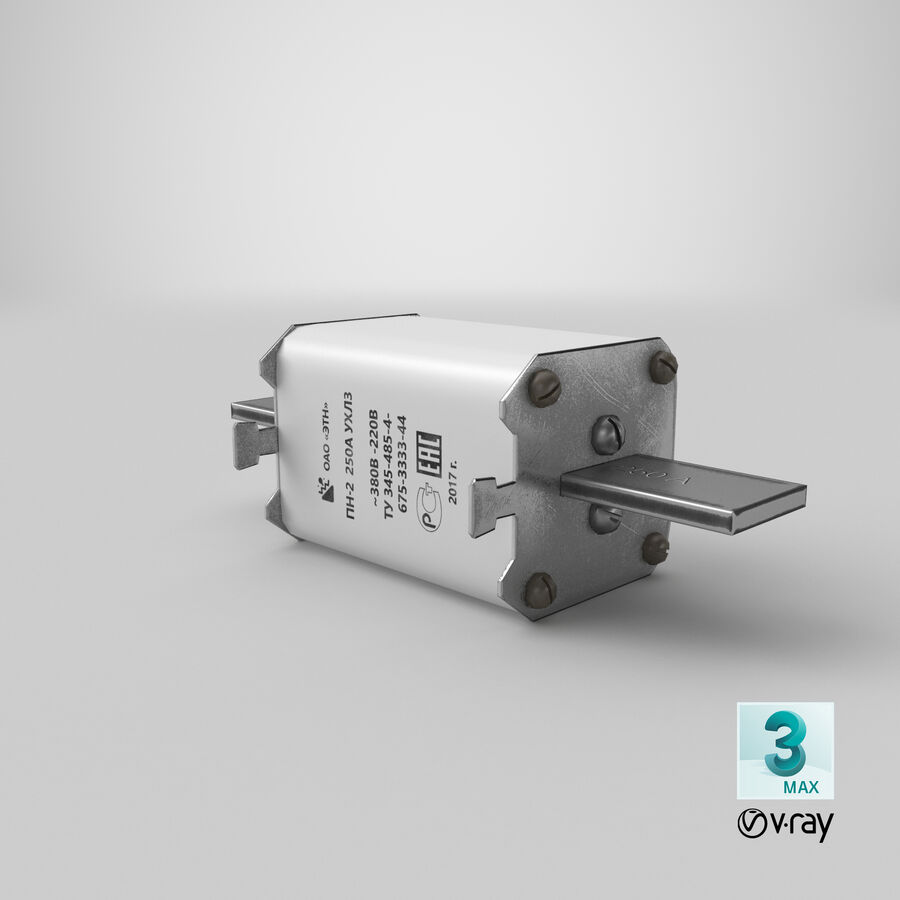 Fuse PN-2 royalty-free 3d model - Preview no. 27