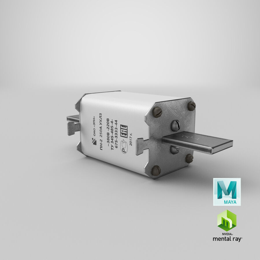 Fuse PN-2 royalty-free 3d model - Preview no. 29
