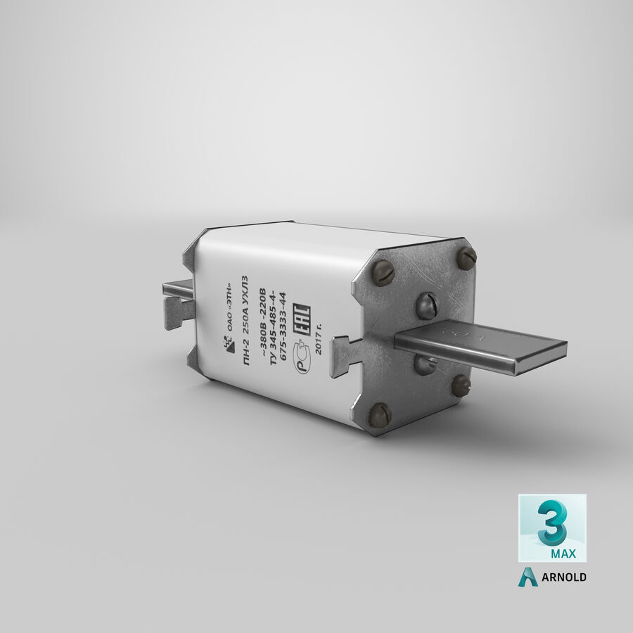 Fuse PN-2 royalty-free 3d model - Preview no. 25