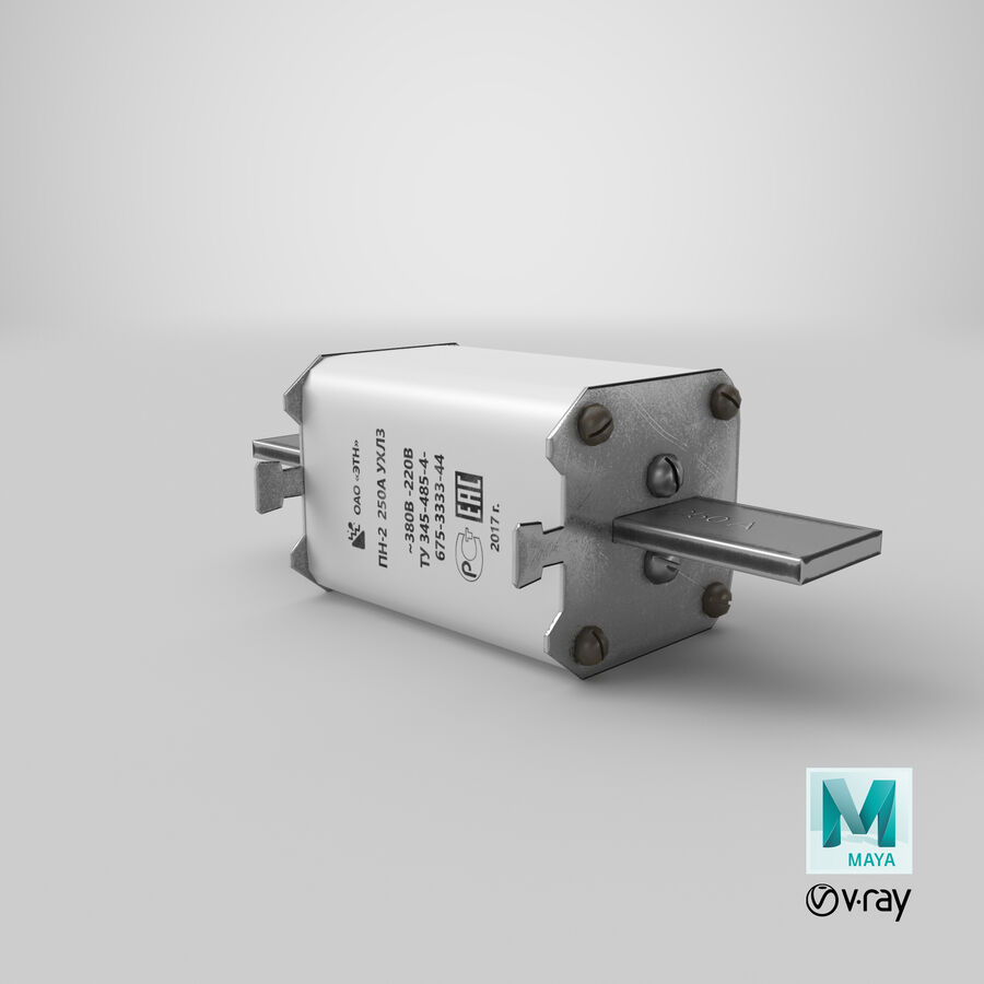 Fuse PN-2 royalty-free 3d model - Preview no. 30