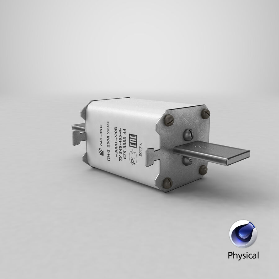 Fuse PN-2 royalty-free 3d model - Preview no. 21