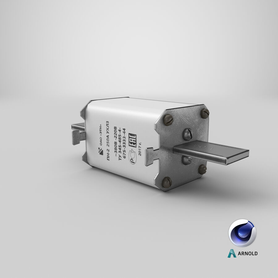 Fuse PN-2 royalty-free 3d model - Preview no. 22