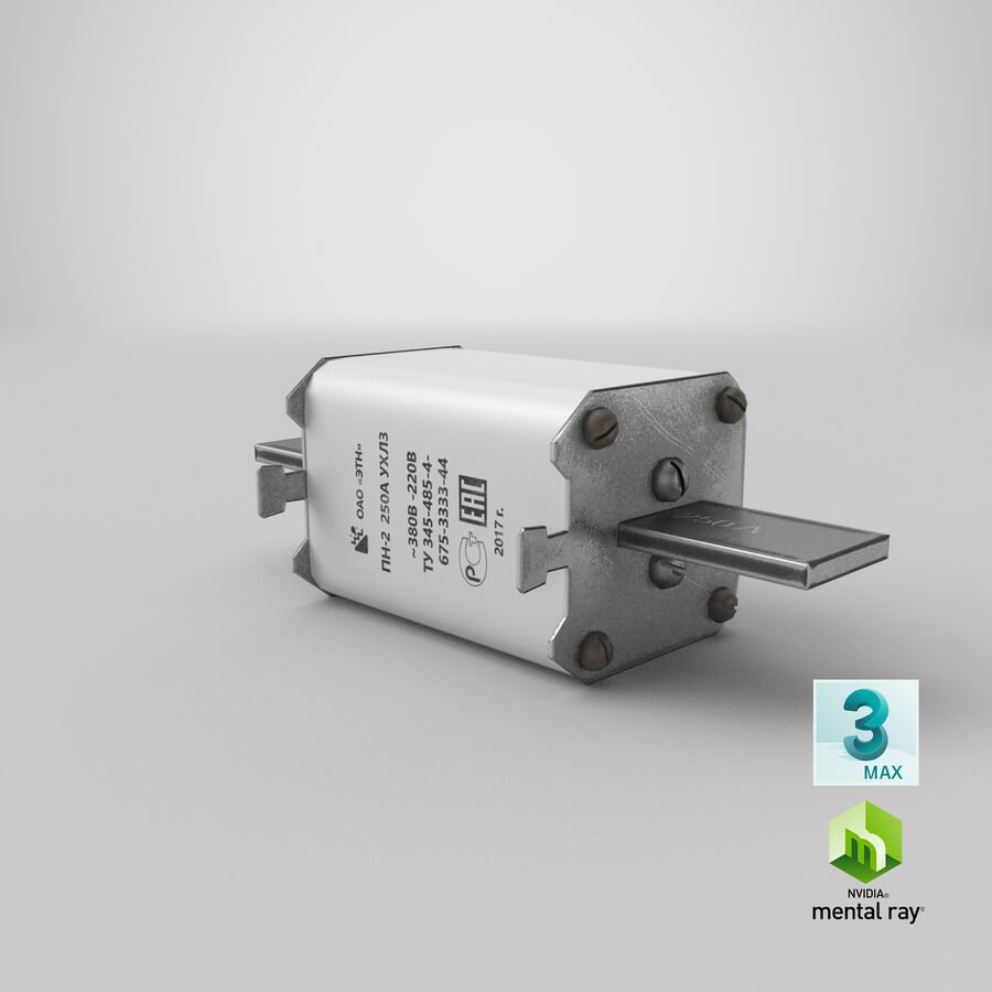 Fuse PN-2 royalty-free 3d model - Preview no. 26