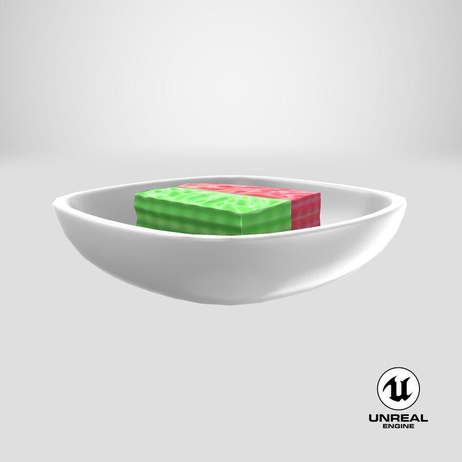 Dessert Khanom Chan royalty-free 3d model - Preview no. 11
