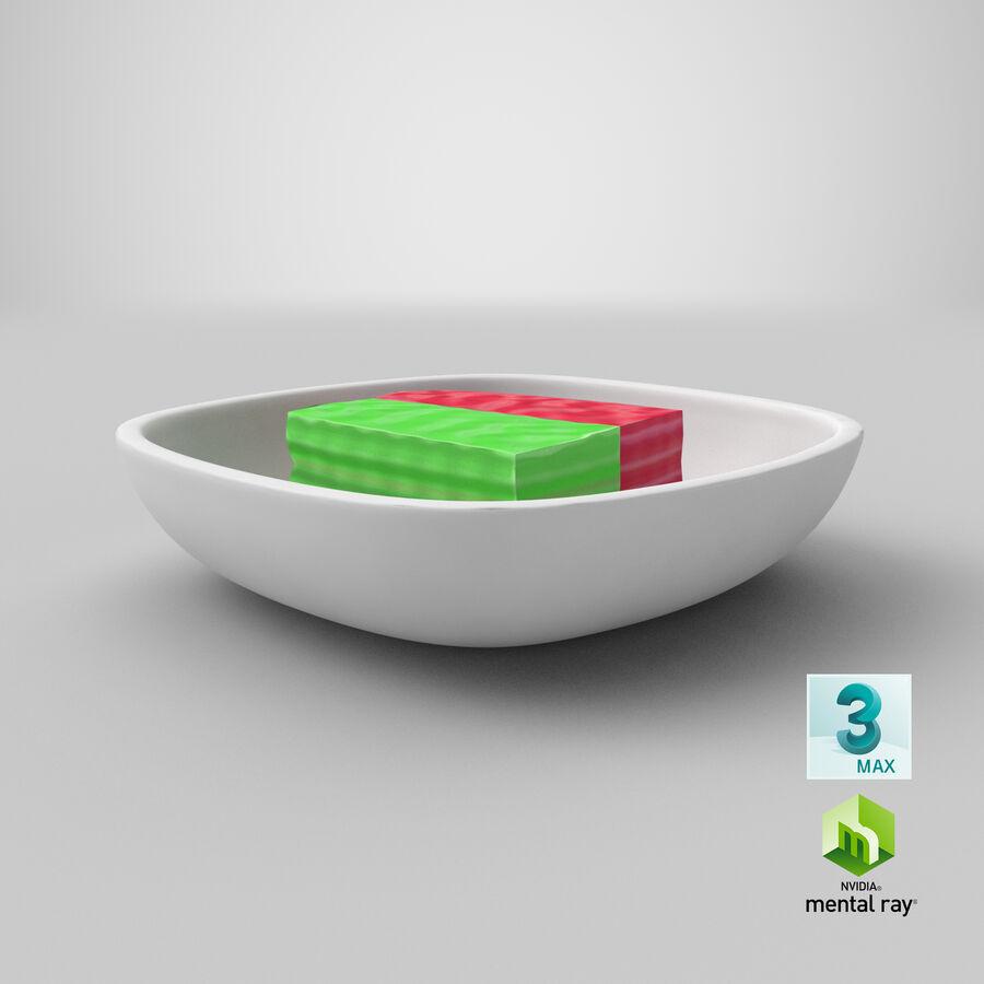 Dessert Khanom Chan royalty-free 3d model - Preview no. 13