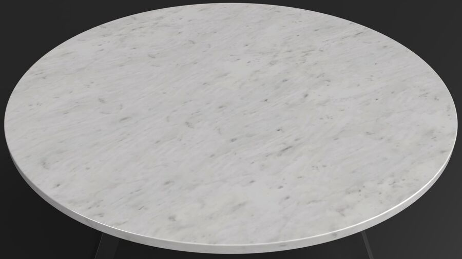 Elke Round Coffee Table royalty-free 3d model - Preview no. 9